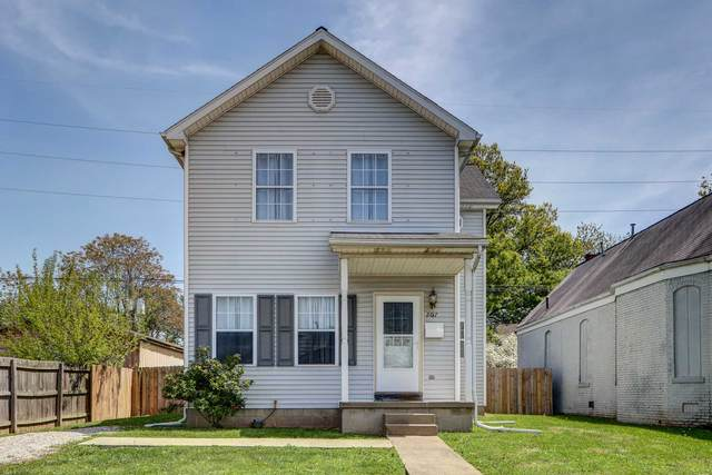 207 Harriet Street, Evansville, IN 47710 (MLS #202114276) :: The Dauby Team