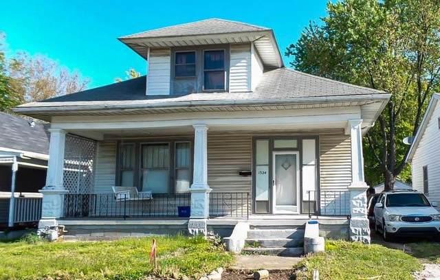 1324 E Walnut Street, Evansville, IN 47714 (MLS #202114602) :: RE/MAX Legacy