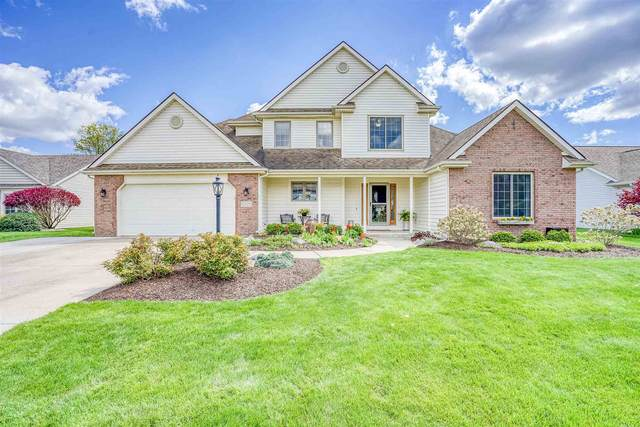 1309 Duesenberg Drive, Huntertown, IN 46748 (MLS #202116853) :: Hoosier Heartland Team | RE/MAX Crossroads