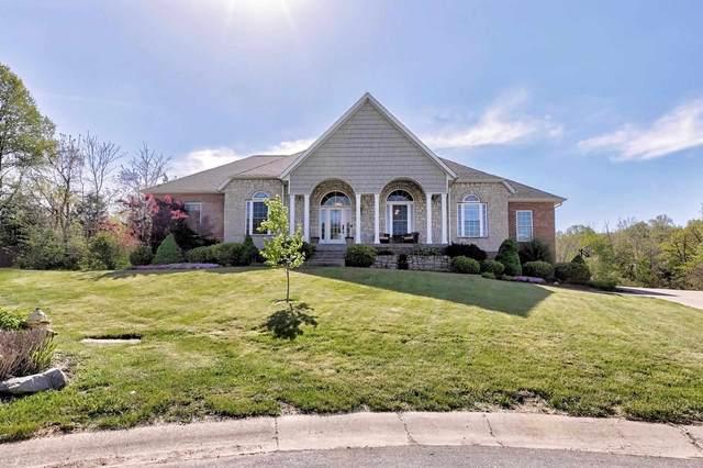 1042 Nicholas Lane, Ellettsville, IN 47429 (MLS #202117494) :: The ORR Home Selling Team