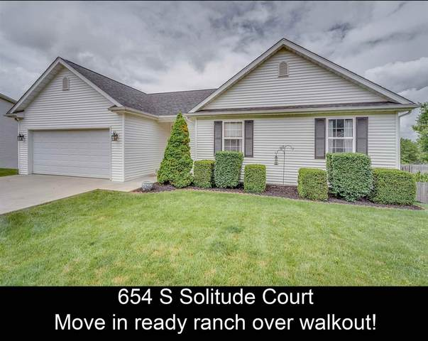 654 S Solitude Court, Bloomington, IN 47403 (MLS #202122581) :: Aimee Ness Realty Group