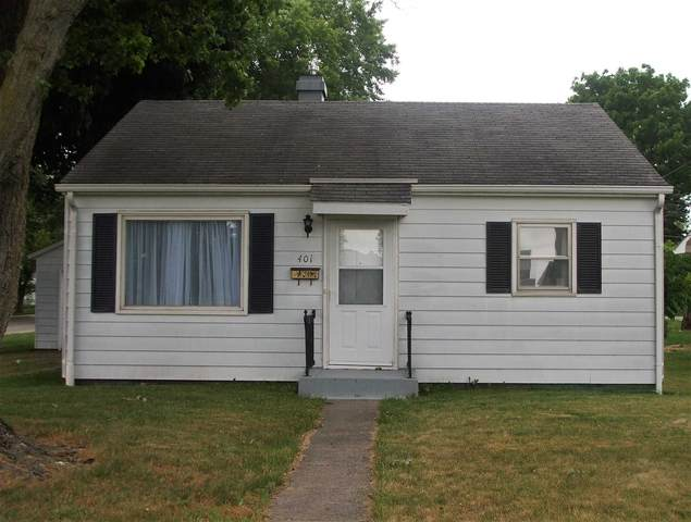 401 S Second Street, Monticello, IN 47960 (MLS #202124589) :: The Romanski Group - Keller Williams Realty