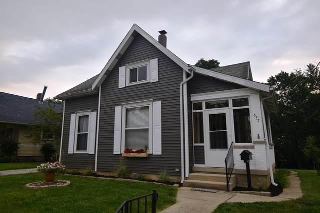 657 Burlington Avenue, Frankfort, IN 46041 (MLS #202129330) :: The Romanski Group - Keller Williams Realty