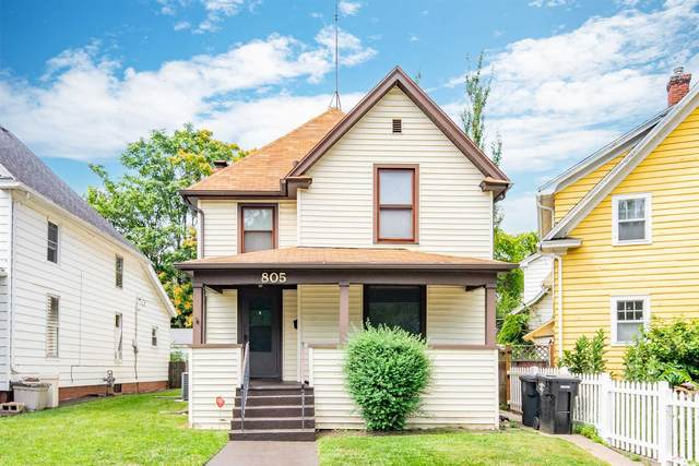 805 E Bronson Drive, South Bend, IN 46601 (MLS #202131016) :: The ORR Home Selling Team