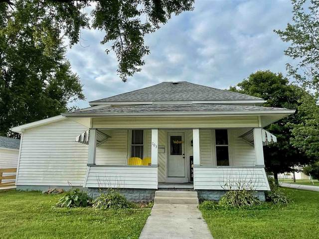 703 E Walnut Street, Greentown, IN 46936 (MLS #202136379) :: The Romanski Group - Keller Williams Realty