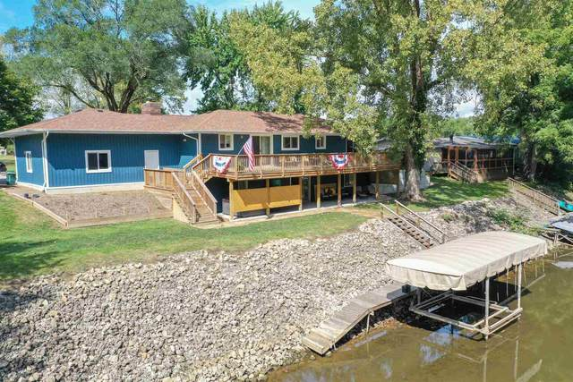 11128 N Quiet Water Road, Monticello, IN 47960 (MLS #202140169) :: Aimee Ness Realty Group