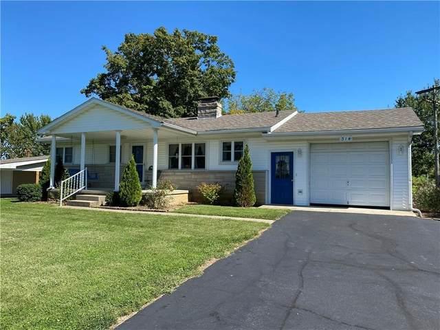 314 Eastwood Drive, Bedford, IN 47421 (MLS #202142727) :: JM Realty Associates, Inc.