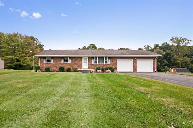 2721 Rexing Road, Wadesville, IN 47638 (MLS #202143127) :: The Hill Team