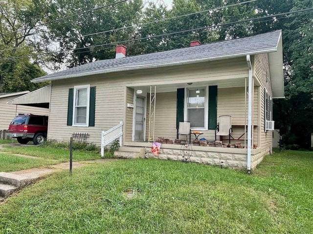 422 W 6th Street, Mount Vernon, IN 47620 (MLS #202143253) :: The Hill Team