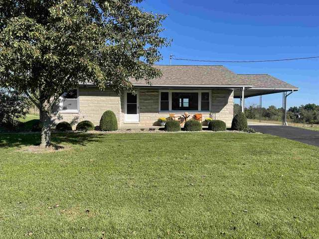 921 Leatherwood Road, Bedford, IN 47421 (MLS #202143859) :: The Hill Team