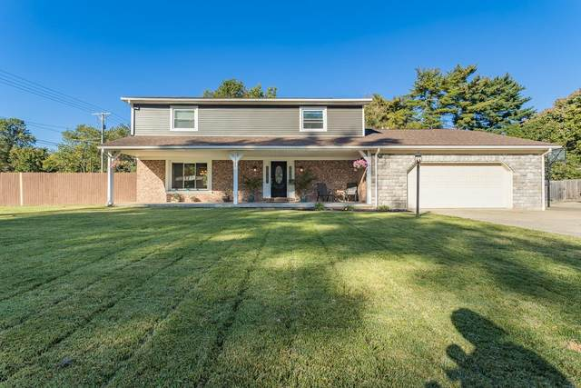 1145 Brookshire Drive, Evansville, IN 47715 (MLS #202143908) :: The Hill Team