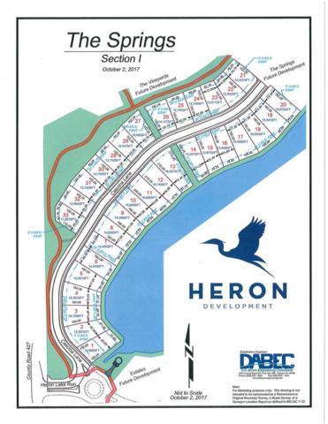 Lot 16 Cascina Lane Heron Lk, Auburn, IN 46706 (MLS #201811008) :: Parker Team