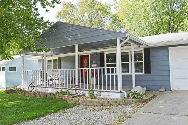 405 N Hill Street, Fairmount, IN 46928 (MLS #202034375) :: The Romanski Group - Keller Williams Realty