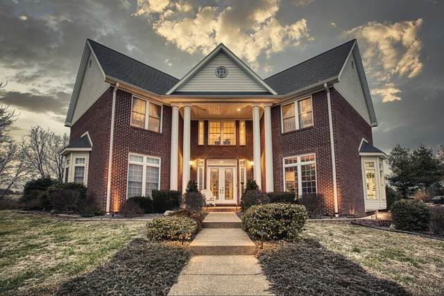 7018 Steeplechase Drive, Evansville, IN 47720 (MLS #202100987) :: RE/MAX Legacy