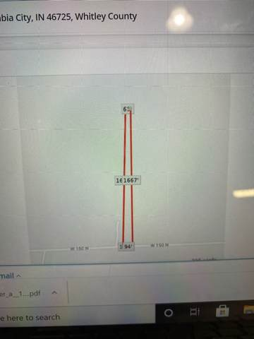 0 W 150 N, Columbia City, IN 46725 (MLS #202108965) :: Hoosier Heartland Team | RE/MAX Crossroads