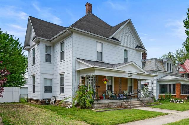 406 S Meridian Street, Winchester, IN 47394 (MLS #202118373) :: The ORR Home Selling Team