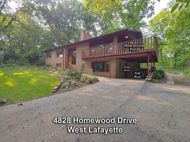 4828 Homewood Drive, West Lafayette, IN 47906 (MLS #202128563) :: The Romanski Group - Keller Williams Realty