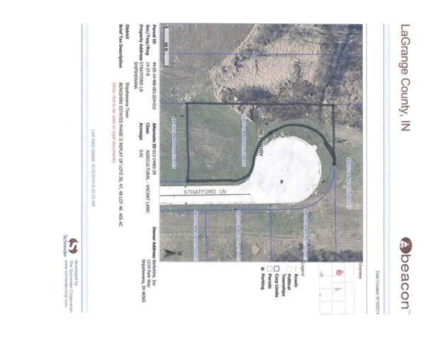 Lot 48 Stratford Lane, Shipshewana, IN 46565 (MLS #201441847) :: The ORR Home Selling Team