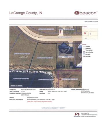 Lot 24 E Yorkshire Drive, Shipshewana, IN 46565 (MLS #201441865) :: The ORR Home Selling Team