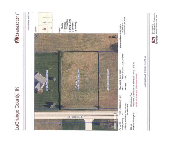 Lot 13 Berkshire Drive, Shipshewana, IN 46565 (MLS #201441867) :: Parker Team