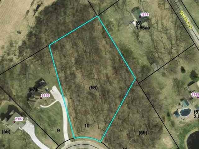 0 Blackberry Trail, Lot 10, Warsaw, IN 46580 (MLS #201446609) :: Aimee Ness Realty Group