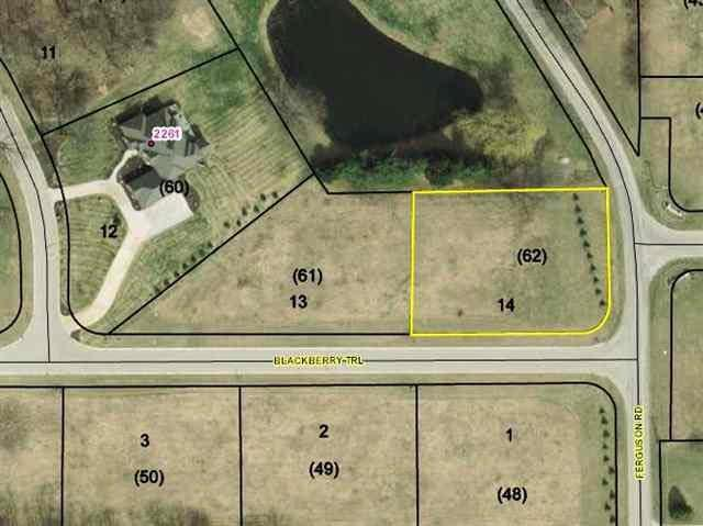 0 Blackberry Trail, Lot 14, Warsaw, IN 46580 (MLS #201446614) :: Aimee Ness Realty Group