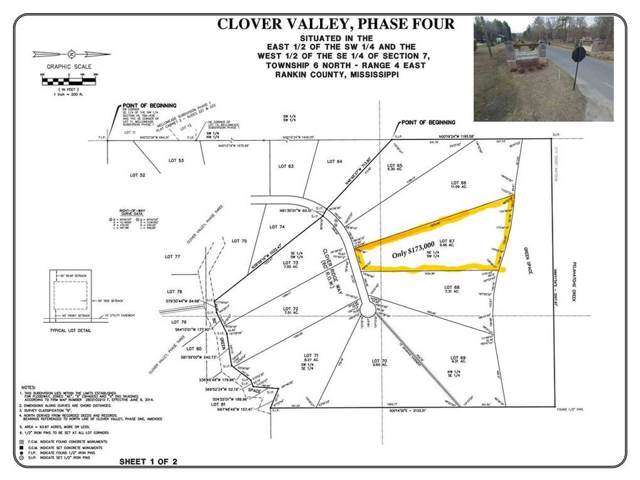 Lot 67 Clover Ridge Way #67, Brandon, MS 39047 (MLS #326568) :: RE/MAX Alliance