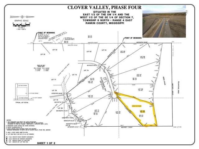 Lot 69 Clover Ridge Way Lot 69, Brandon, MS 39047 (MLS #326569) :: RE/MAX Alliance