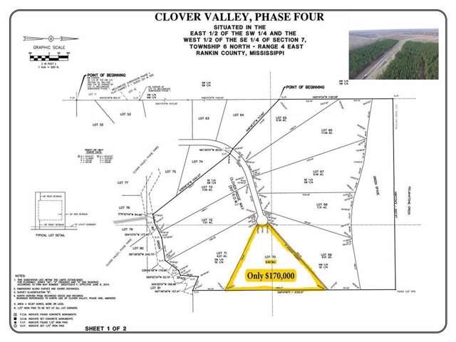 Lot 70 Clover Ridge Way Lot 70, Brandon, MS 39047 (MLS #326570) :: RE/MAX Alliance