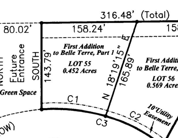 Belle Terre Dr Lot 55, Madison, MS 39110 (MLS #328311) :: RE/MAX Alliance
