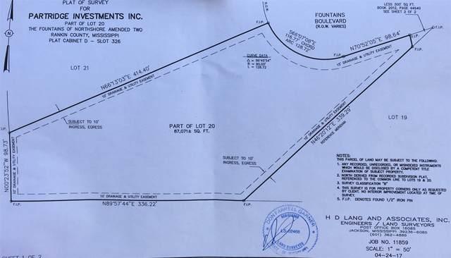 0 Fountains Blvd, Brandon, MS 39047 (MLS #329004) :: Three Rivers Real Estate
