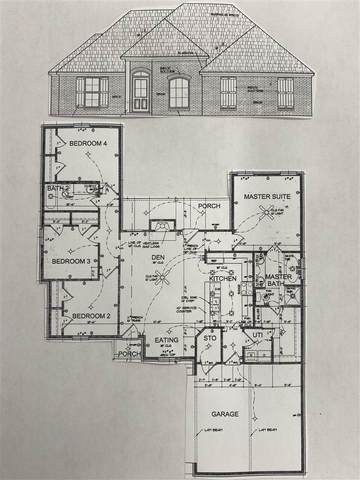 173 Nottinghill Pl, Canton, MS 39046 (MLS #329446) :: List For Less MS