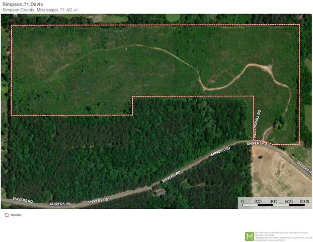 Shivers Rd, Pinola, MS 39149 (MLS #332441) :: RE/MAX Alliance