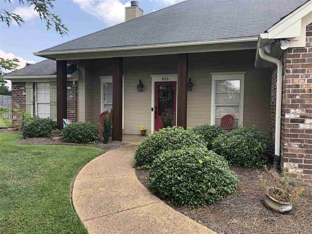 813 Wedgewood Ct, Brandon, MS 39047 (MLS #333387) :: Exit Southern Realty