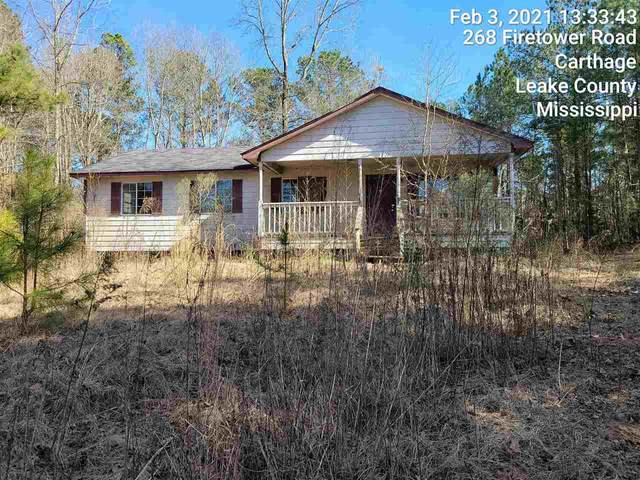 268 Firetower Rd, Carthage, MS 39051 (MLS #338270) :: eXp Realty