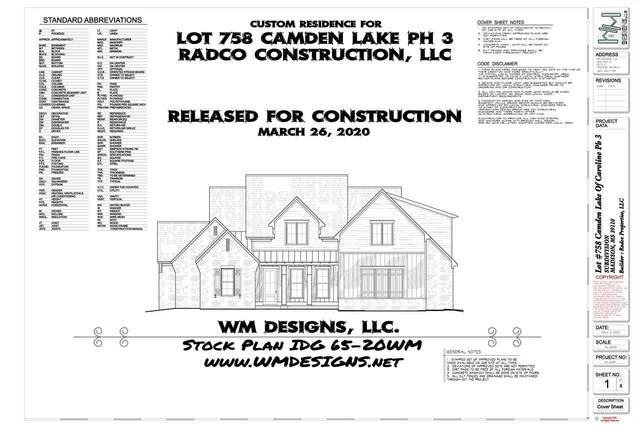 163 Camden Lake Dr Lot 758, Madison, MS 39110 (MLS #321207) :: RE/MAX Alliance