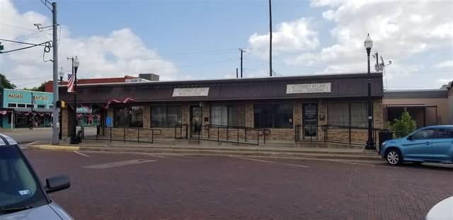 102 N Ellis, Groesbeck, TX 76642 (MLS #201837) :: Triangle Real Estate