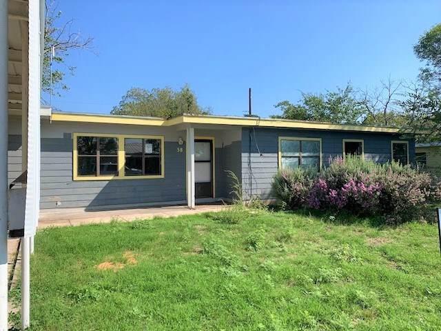 38 Crockett Heights, Ozona, TX 76943 (MLS #202102) :: Triangle Real Estate