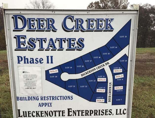 LOT 19 Dickerson Creek Drive, Jefferson City, MO 65109 (MLS #10059384) :: Columbia Real Estate