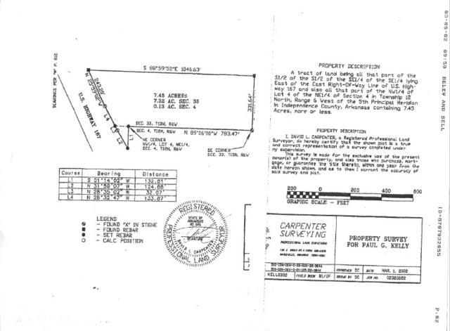 7.45 Acres Batesville Blvd., Batesville, AR 72501 (MLS #10073152) :: Halsey Thrasher Harpole Real Estate Group