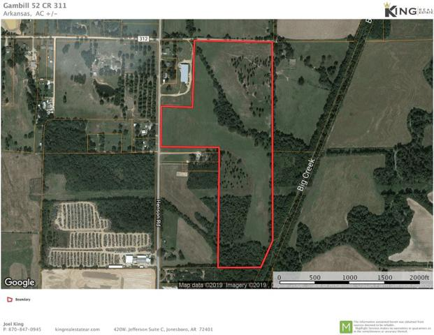 CR311-52.53 ac Henson Road, Jonesboro, AR 72401 (MLS #10081251) :: Halsey Thrasher Harpole Real Estate Group
