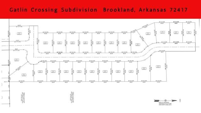 Lot 12B Gatlin Crossing, Brookland, AR 72417 (MLS #10083760) :: Halsey Thrasher Harpole Real Estate Group