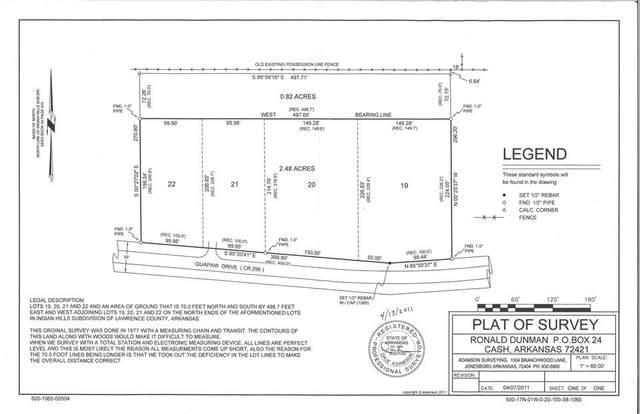 3.3 Acres Cr 296, Black Rock, AR 72415 (MLS #10087741) :: Halsey Thrasher Harpole Real Estate Group