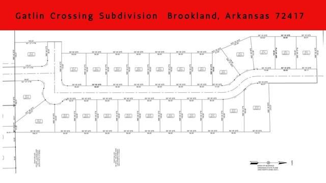 Lot 12B Gatlin Crossing, Brookland, AR 72417 (MLS #10089958) :: Halsey Thrasher Harpole Real Estate Group