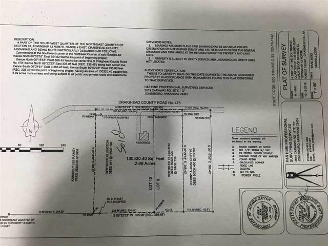 441 Cr 478, Jonesboro, AR 72404 (MLS #10091107) :: Halsey Thrasher Harpole Real Estate Group