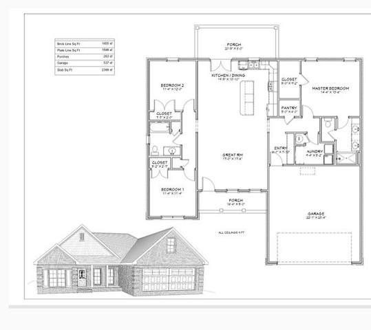 411 Rogers Ln, Manila, AR 72442 (MLS #10093668) :: Halsey Thrasher Harpole Real Estate Group