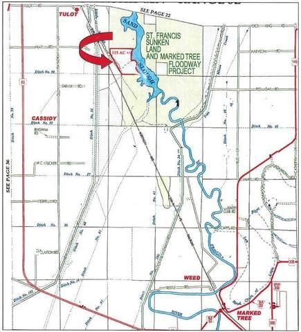0-115 Acre Oak Donnick, Lepanto, AR 72354 (MLS #10087150) :: Halsey Thrasher Harpole Real Estate Group