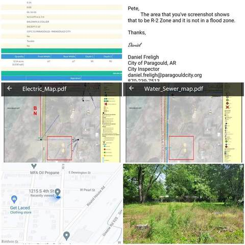 0-1215 & 1 N 4th Street, Paragould, AR 72450 (MLS #10093627) :: Halsey Thrasher Harpole Real Estate Group