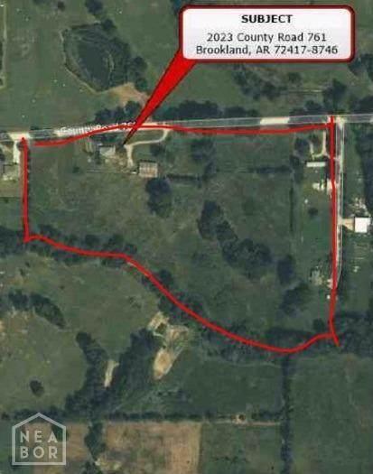 2023 County Road 761, Brookland, AR 72417 (MLS #10093854) :: Halsey Thrasher Harpole Real Estate Group