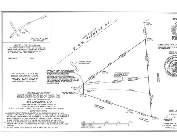 S Highway 411, Greenback, TN 37742 (#1022737) :: SMOKY's Real Estate LLC